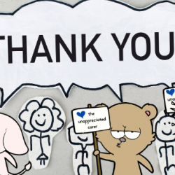 What makes care workers feel appreciated?